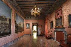Palazzo Mocenigo interior, Venice, Italy