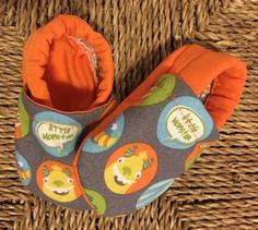 Baby Moccs-Cotton Baby Shoes-Soft Sole Baby Shoes-Crib