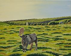 Cows Pretty Images, Pretty Pictures, Beautiful Images, Irish Landscape, Irish Art, Pretty Art, Beautiful Paintings, Cows, Art Blog