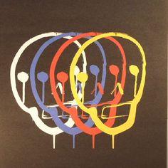The artwork for the vinyl release of: Sneaker | Bullion | Il Est Vilaine | Jamie Paton - BAHNRSD (Record Store Day 2017) (Bahnsteig 23) #music Disco