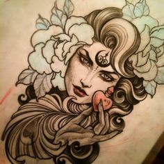 Done by Teniele Sadd. http://instagram.com/teniele