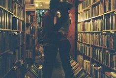 I would not be opposed to a lovely man kissing me in a bookstore.