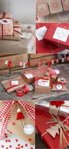 jul pyssel julklapp inslagning inspiration tips ide julpynt papper papperspyssel