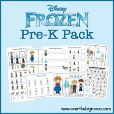Frozen PreK Pack