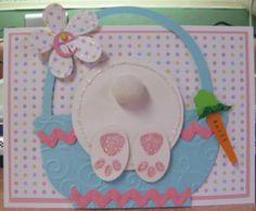Cuttlebug/Cricut Easter Bunny Card - bjl