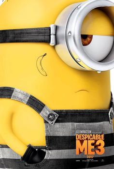 Despicable Me 3 Minion Poster 1 Minion Poster, Streaming Vf, Streaming Movies, Animated Movie Posters, Pixar, Trey Parker, Cute Minions, Funny Minion, Despicable Me 3