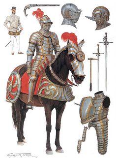 """Tudor Knight, c. 1550"""
