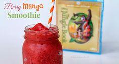 Berry Mango Smoothie. A glass full of anti-oxidants, Vitamin C and Potassium