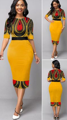 Best African Dresses, African Traditional Dresses, African Inspired Fashion, Latest African Fashion Dresses, African Print Fashion, African Attire, African Print Dress Designs, Tribal Print Dress, Outfits Dress