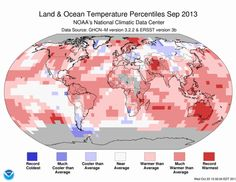 Dr. Jeff Masters' WunderBlog : Earth's 4th Warmest September on Record.