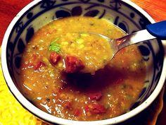 Lentilha laranja ao curry :: Pimenta na cozinha