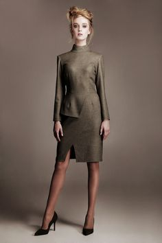 afae9f73e04a DIANAARNO Arno, Management, High Neck Dress, Fall Winter, Photography,  Model,