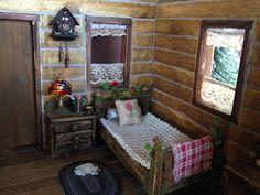 Crockett log cabin progress | by Torisaur