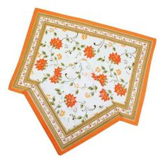 Orange Indian Home Décor Placemats And Napkins Set Of 4 Spring Cotton by ShalinCraft, http://www.amazon.co.uk/dp/B00ECVVFRK/ref=cm_sw_r_pi_dp_i4Qhtb1SNZYQ3