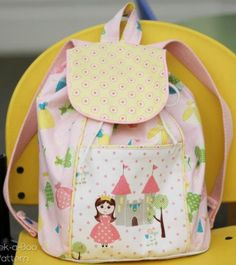 Pre-School Adventurer Backpack – PDF Pattern | PatternPile.com