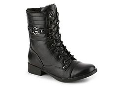 G by GUESS Bassy Combat Boot