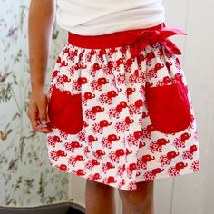 Cute for Edda! Retro Kids, Cute Skirts, I Shop, Kids Outfits, Sewing, Stylish, Pattern, How To Make, Children Clothes