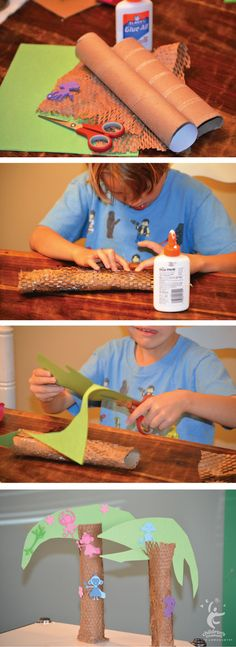 Let your kids monkey around with this fun, simple craft!