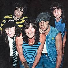 Despite Bon Scott's death, AC/DC continue to perform. | Rolling Stone