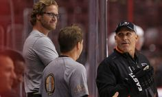 Report | Chris Pronger in discussions to join Panthers staff = Veteran defenseman Chris Pronger hasn't played in an NHL game since the 2011-12 season, when he skated out for just 13 appearances and then was shut down permanently for post-concussion symptoms. He's still.....