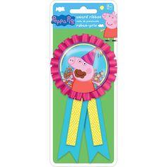 Peppa Pig Award Ribbon 1ct | Wally's Party Factory #peppa #pig #ribbon