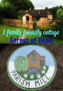 We recently reviewed a lovely family friendly cottage located on the edge of the Forest of Dean.  The owners had thought of absolutely everything that families need when they are away from home - highchair, toys, kids books, stair gates, travel cot, plastic plates etc.  We were very impressed.  The cottage can fit a maximum of 2 adults, 4 kids and an infant so perfect for large families too.
