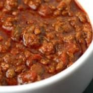 Crock Pot Super Bowl Chili ~ Really sounds wonderful!
