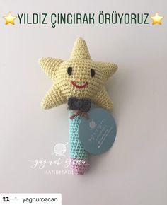 Tari Crochet Baby Toys, Baby Knitting, Amigurumi Doll, Amigurumi Patterns, Handmade Baby Gifts, Baby Rattle, Handmade Decorations, Doll Toys, Dolls