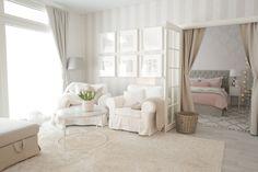 Meidän kodin haastavin huone sisustaa // Pellavaa ja pastellia
