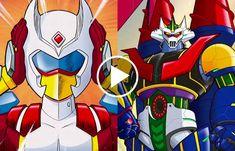 Koji Kabuto, Super Robot, Bowser, Disney Characters, Fictional Characters, Comics, News, Places, Vintage Robots