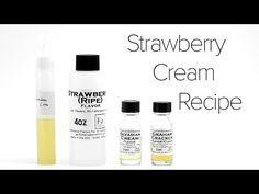 DIY E-Liquid Recipe : Strawberry Cream - YouTube