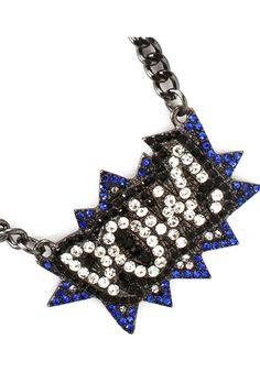Marvel Blue Necklace - Holy coolness, Batman!
