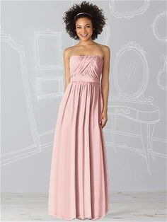 After Six Bridesmaid Dress 6621 in Rose