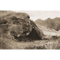 The Cave On Juan Fernandez Island In Which Alexander Selkirk Lived Now Known As Robinson Crusoe Cave From The Illustrated War News Published 1915 Canvas Art - Ken Welsh Design Pics (18 x 11)