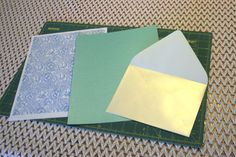 How to Wow Your Guests on a budget: Envelope Liners | The Budget Savvy Bride