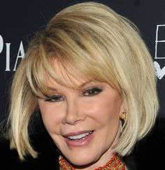 Joan Rivers Hair Styles Funny Lady Joan Rivers I Think I Should Have My Hair This Way When .