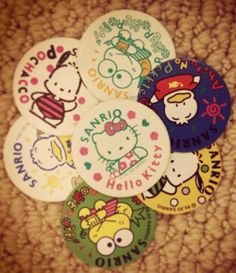 1993 #Sanrio #pogs - where are they now?