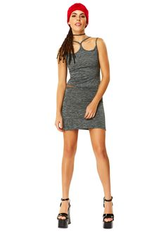 Fade To Gray Double Strap Tank Top X American Deadstock OMG Is that #Deadstock? Duh! SHOP #Sunglasses #Tops #Bottoms #Skirts #Bodysuits #Apparel #Accessories & More!