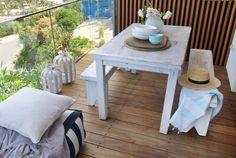 #Beachwood #Bright and blue in Bilgola #Outdoor setting