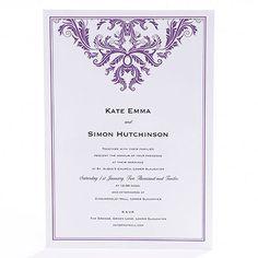 Baroque Invitation