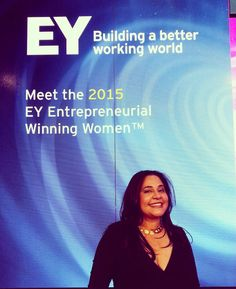 """So honored to be EY #winningwomen #sgfus @beyondcurious"""