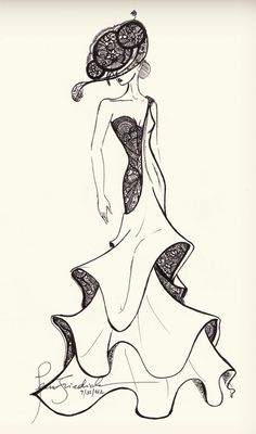 LittleMonsters | Backplane - Sketch Submission ~ Gaga in 'Elisabeta' by JeanFriedrich