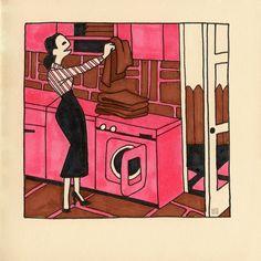 RETROLIVING by Hilda Groenesteyn / studio Hille © 2018 Retro Bathrooms, Studio, Painting, Instagram, Art, Art Background, Painting Art, Kunst, Rustic Bathrooms