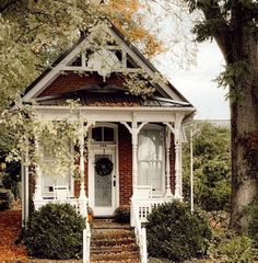 How to Budget for a Custom Build - Cottage style decorating, renovating and entertaining Ideas for indoors and out Small English Cottage, English Cottage Exterior, Small Cottage Homes, Cottage Style Homes, English House, Cottage House Plans, English Cottages, Cottage Porch, Farm House