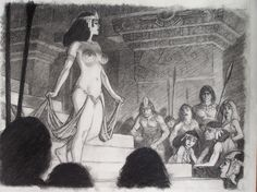 Mark Schultz - The Dancing Girl (from Conan) Comic Art