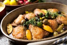 NYT Cooking: Braised Chicken With Lemon and Olives