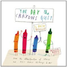 "Writing With Voice: Using the book, The Day The Crayons Quit as a model, students write from the point of view of an object that might ""quit"" and why."