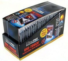200 Ultra Pro ONE TOUCH RESEALABLE BAGS NEW magnetic screw toploader card sleeve