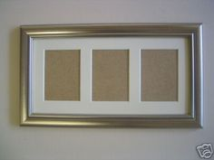 Picture frame Silver wood ACEO Art card 3.5 x 2.5 inch on eBay!