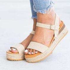bd2b9773e8b Chic Espadrille Platform Sandals
